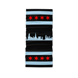 Chicago Neck Gaiter - Black - My E Three