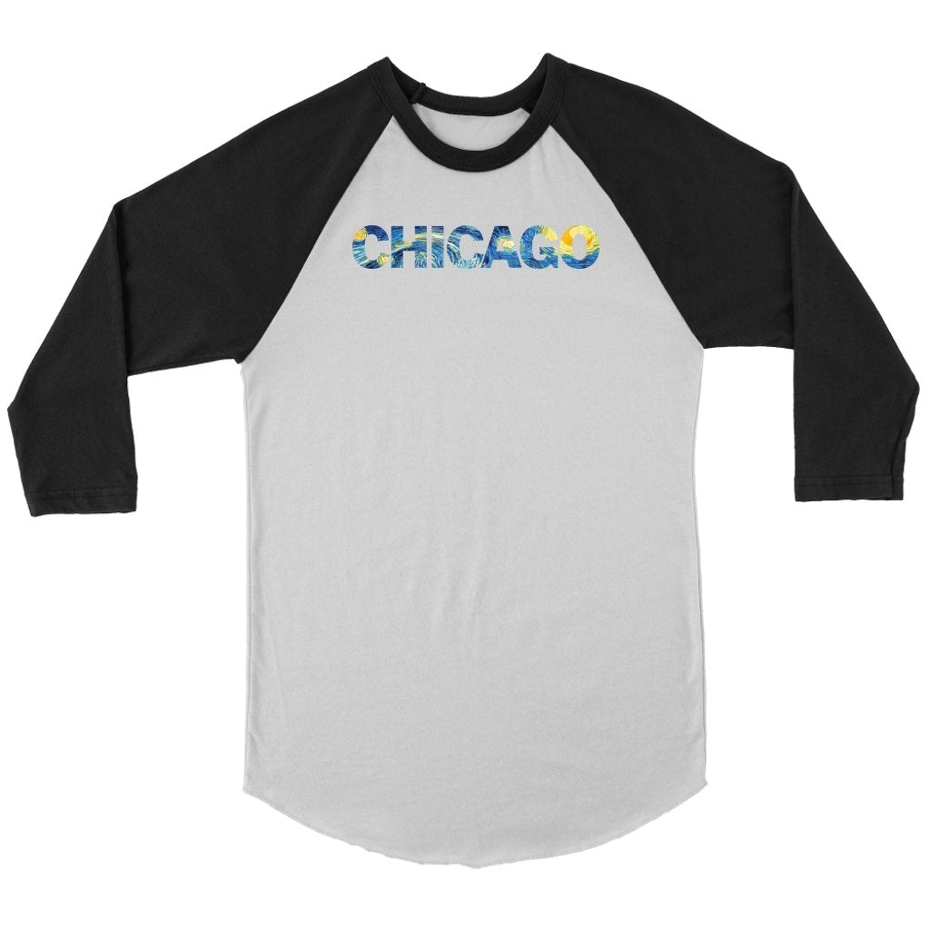 ChicaGOGH RaglanT-shirt - My E Three