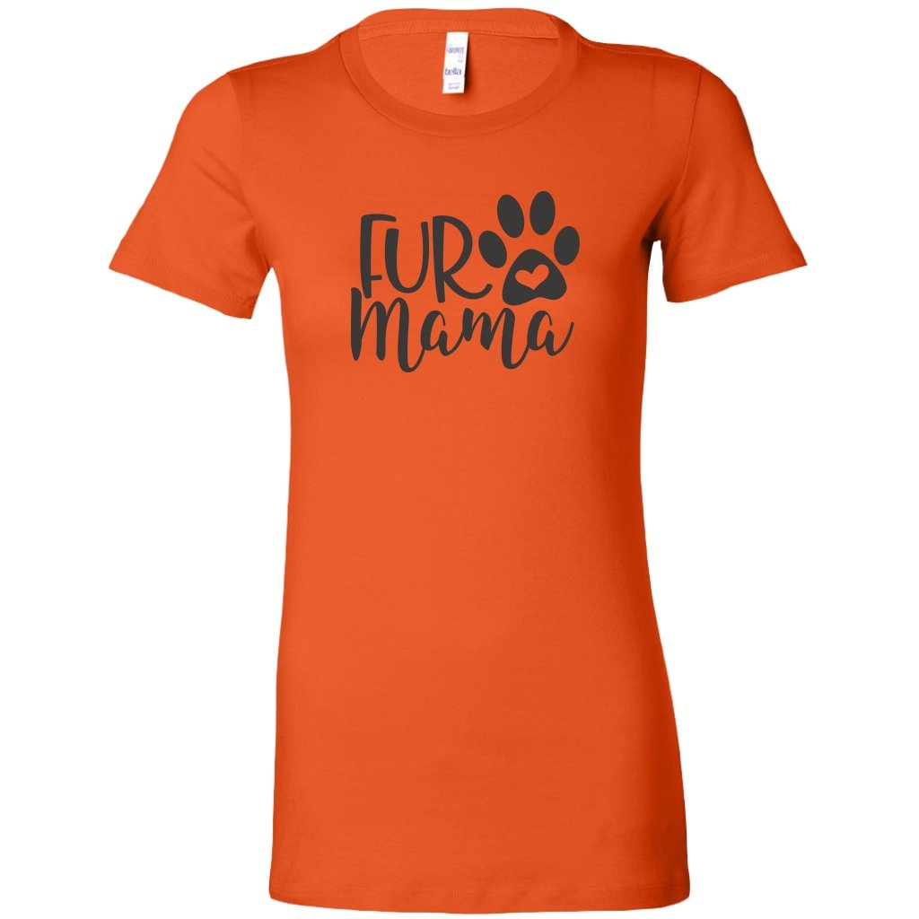 fur Mama Womens ShirtT-shirt - My E Three