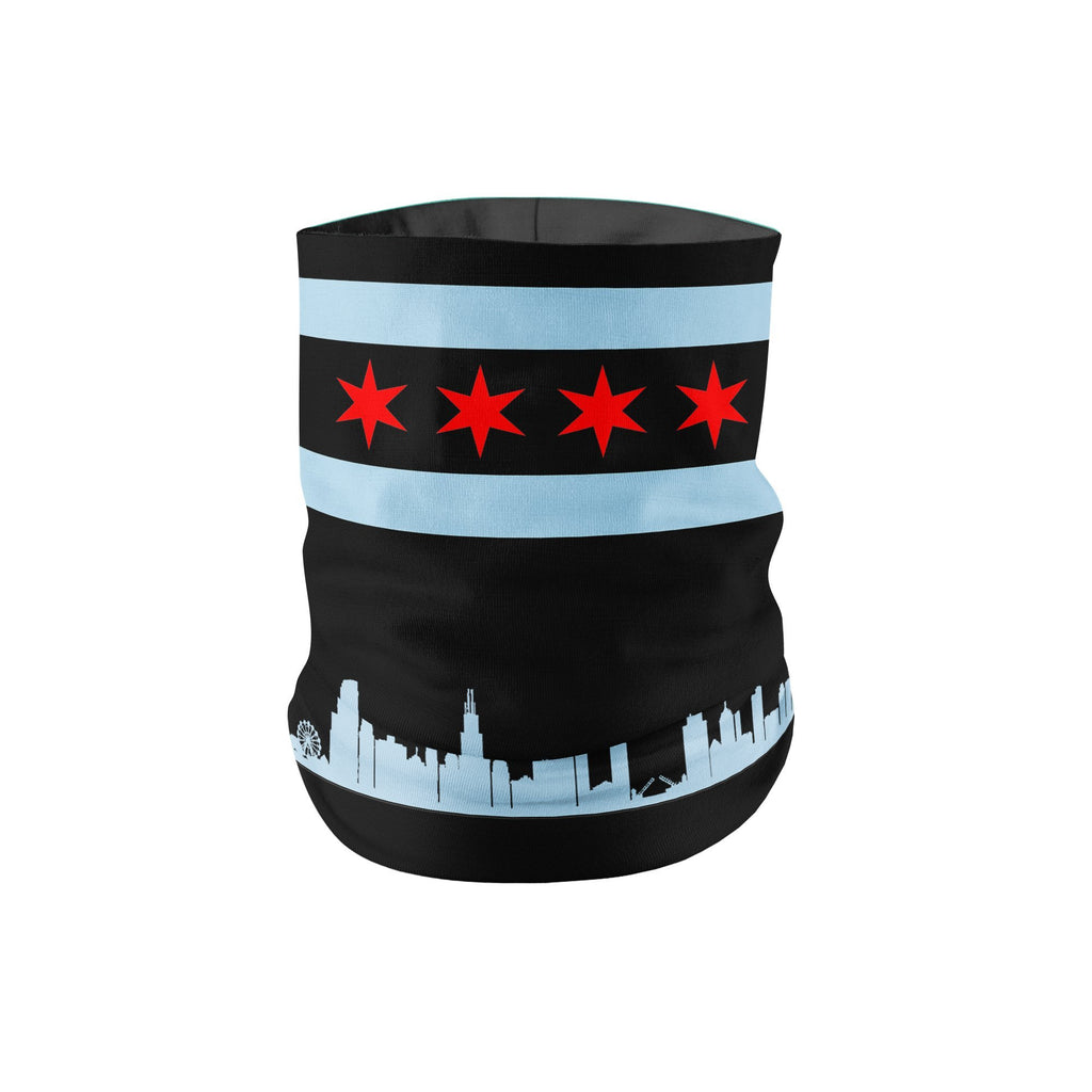 KIDS Chicago Neck Gaiter - Black - My E Three
