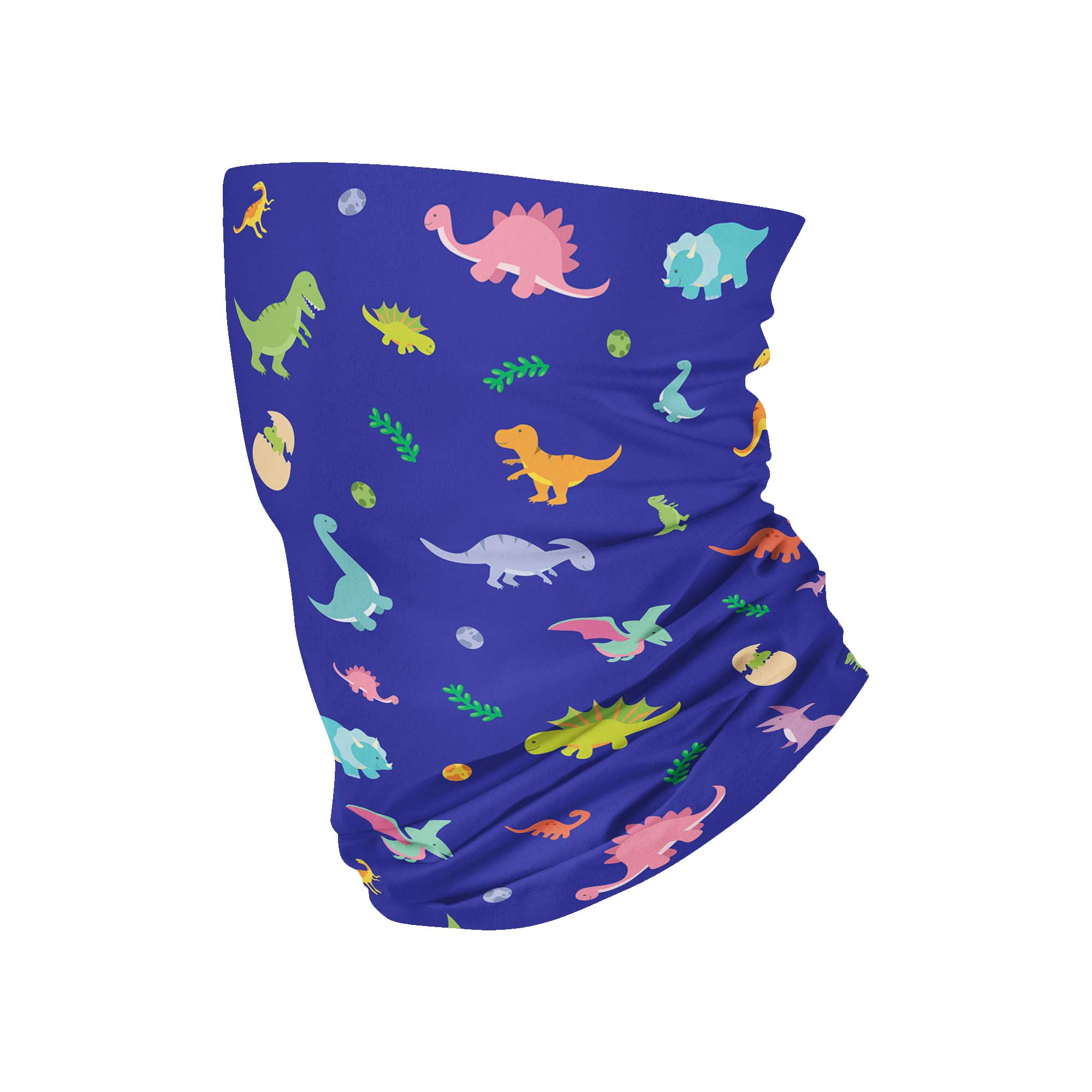 KIDS Dinosaur Neck Gaiter - My E Three