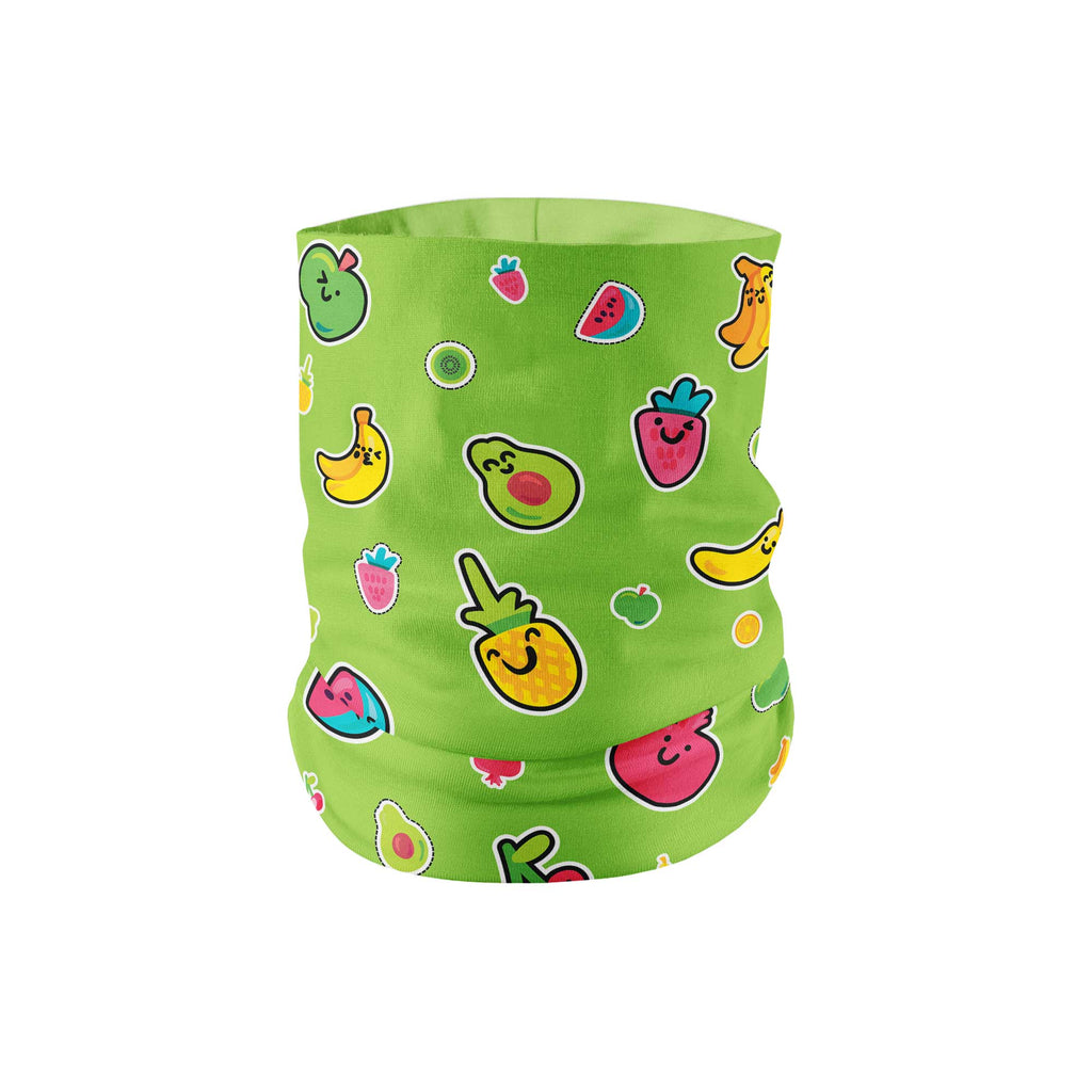 Fruits Neck Gaiter fits Kids, Youth and Petite - My E Three
