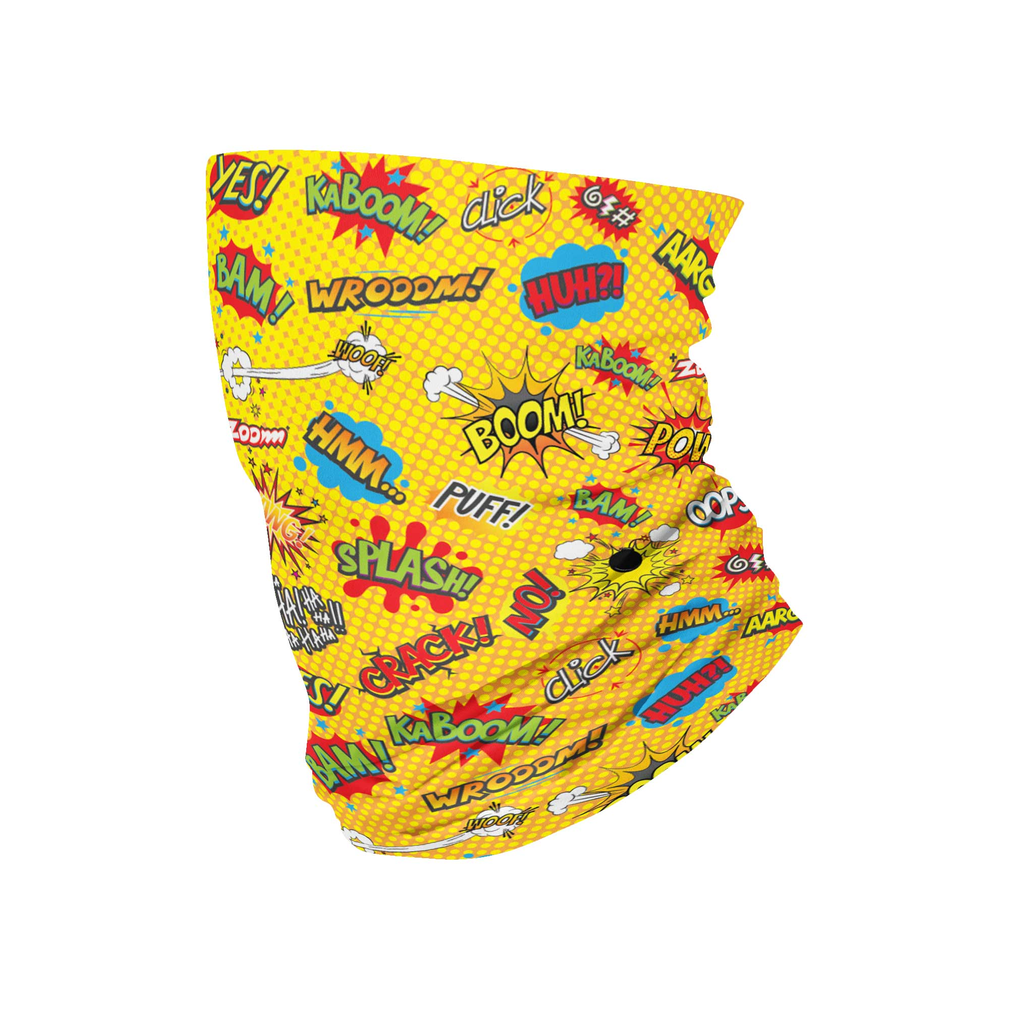 Onomatopeia Neck Gaiter fits Kids, Youth and Petite - My E Three
