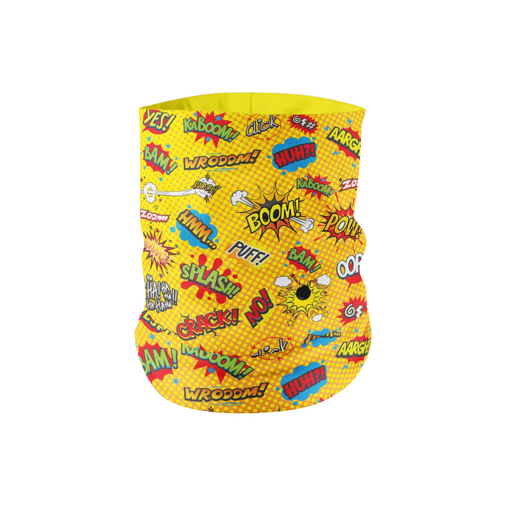 KIDS Onomatopeia Neck Gaiter - My E Three