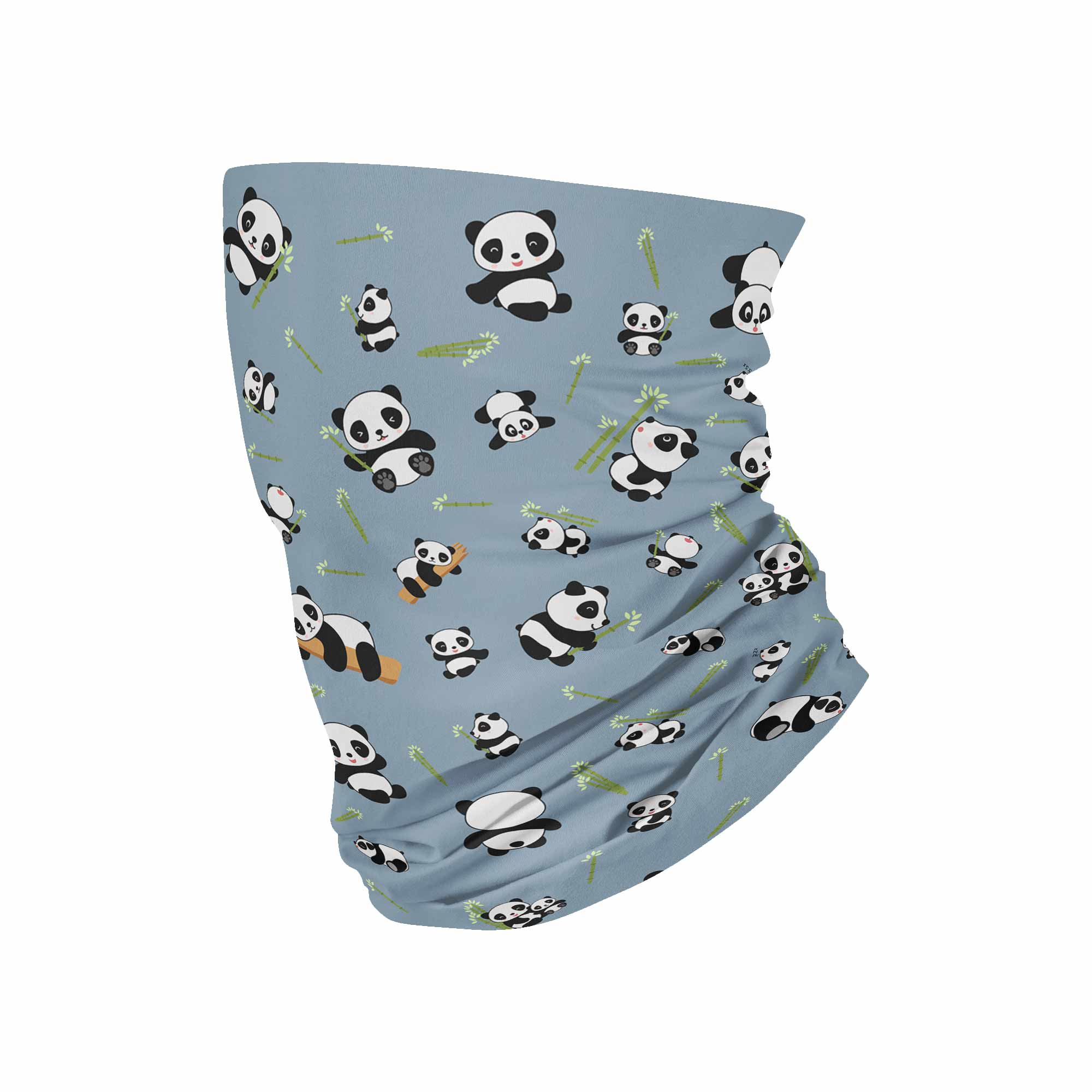 Panda Neck Gaiter fits Kids, Youth and PetiteNeck Gaiter - My E Three