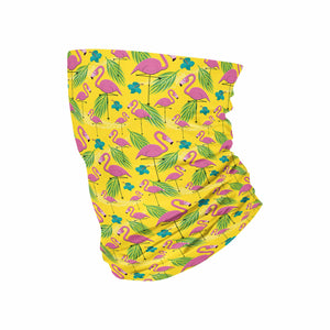 KIDS Pink Flamingo Neck Gaiter - My E Three