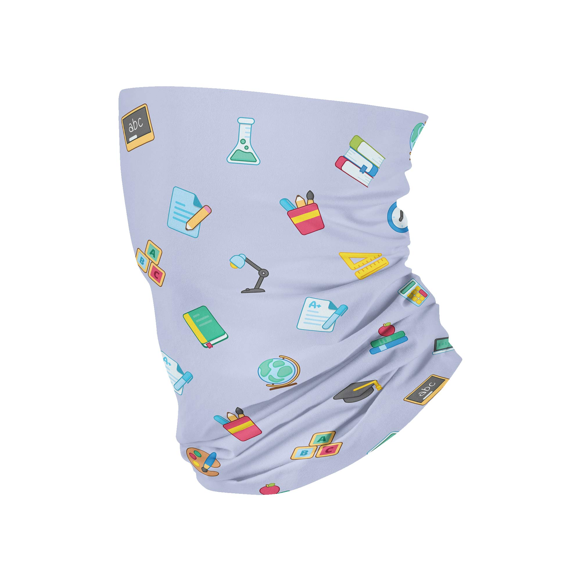 School Neck Gaiter fits Kids, Youth and Petite - My E Three