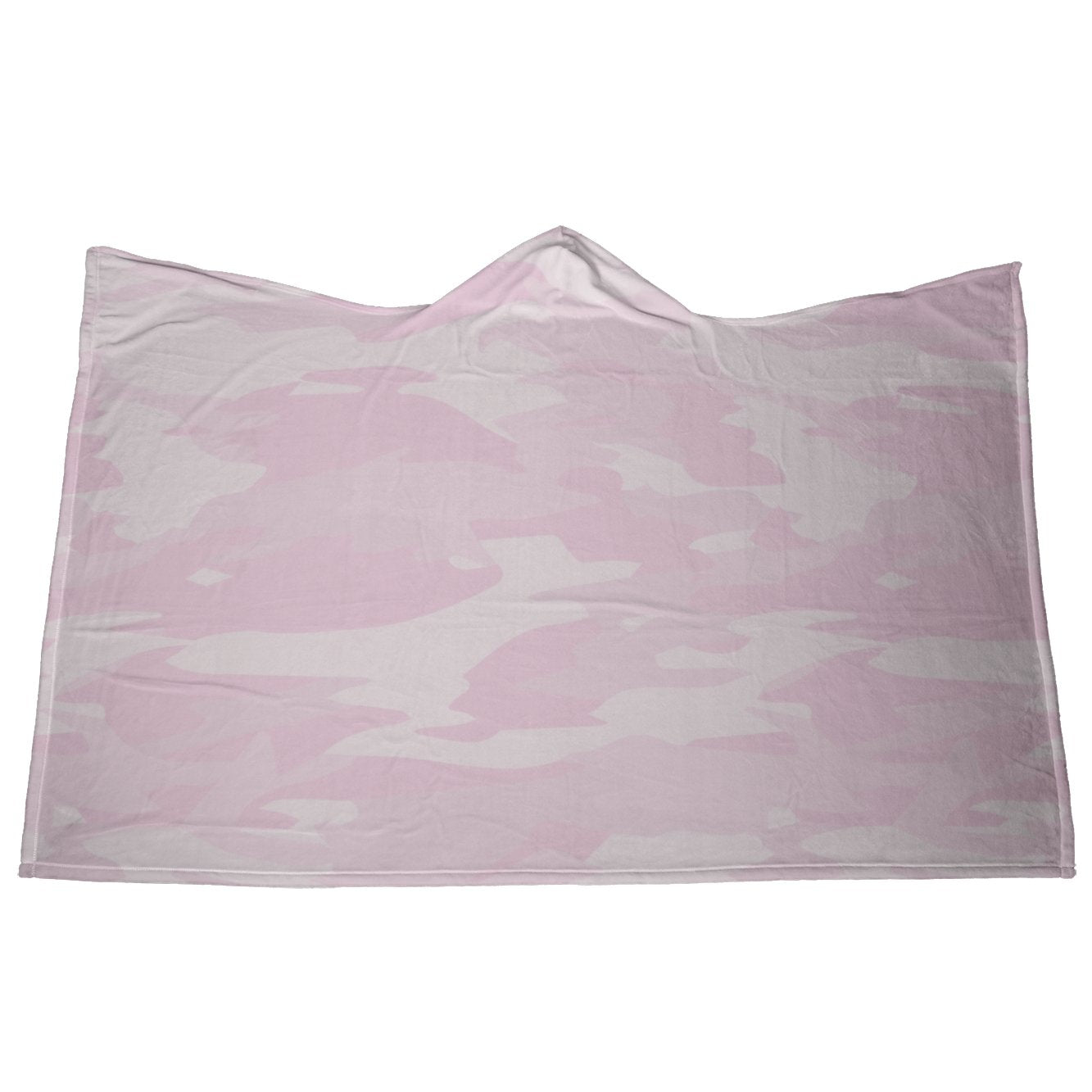 Pink Camo Hooded Blanket - My E Three