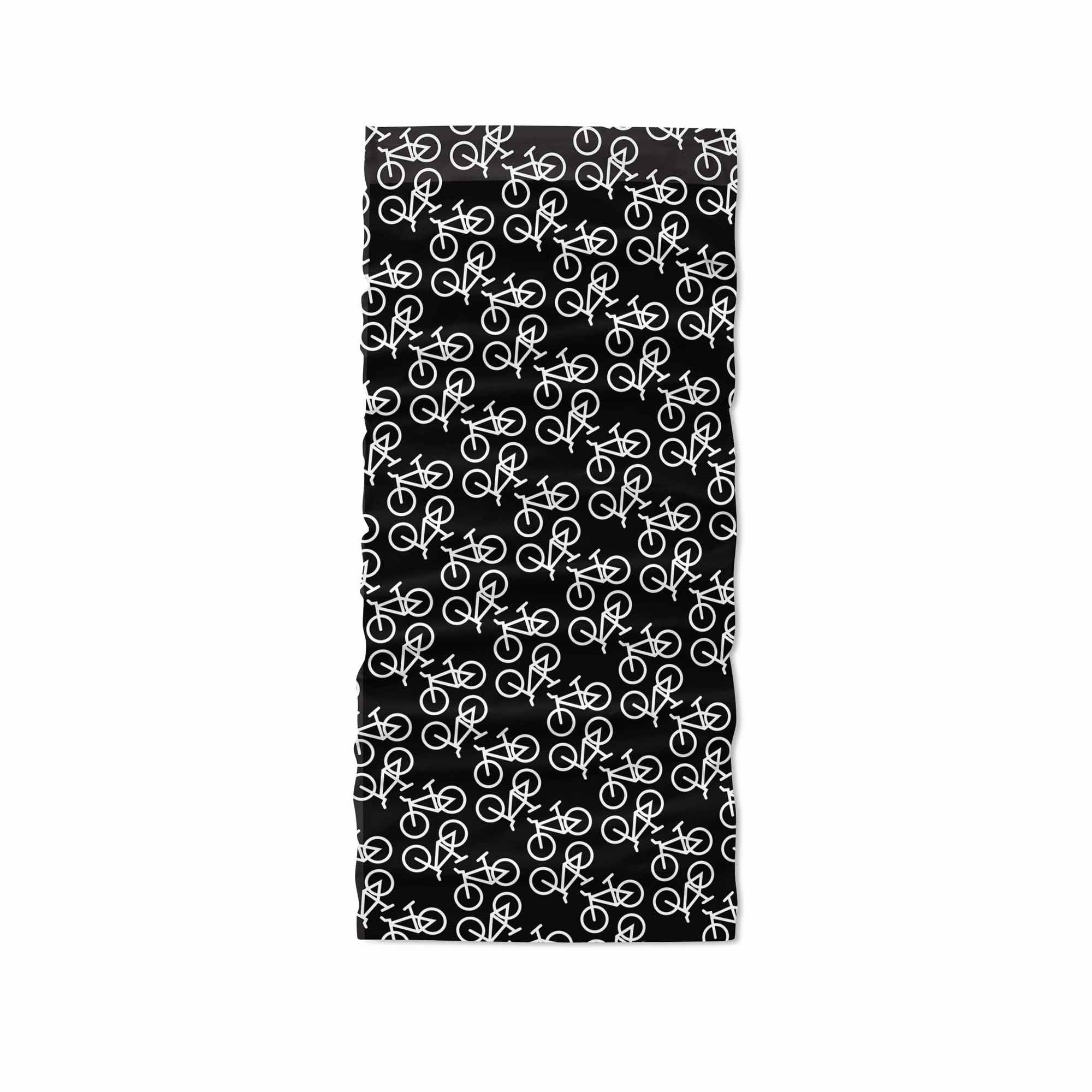 Black Bike Neck Gaiter fit Kids, Youth and Petite - My E Three