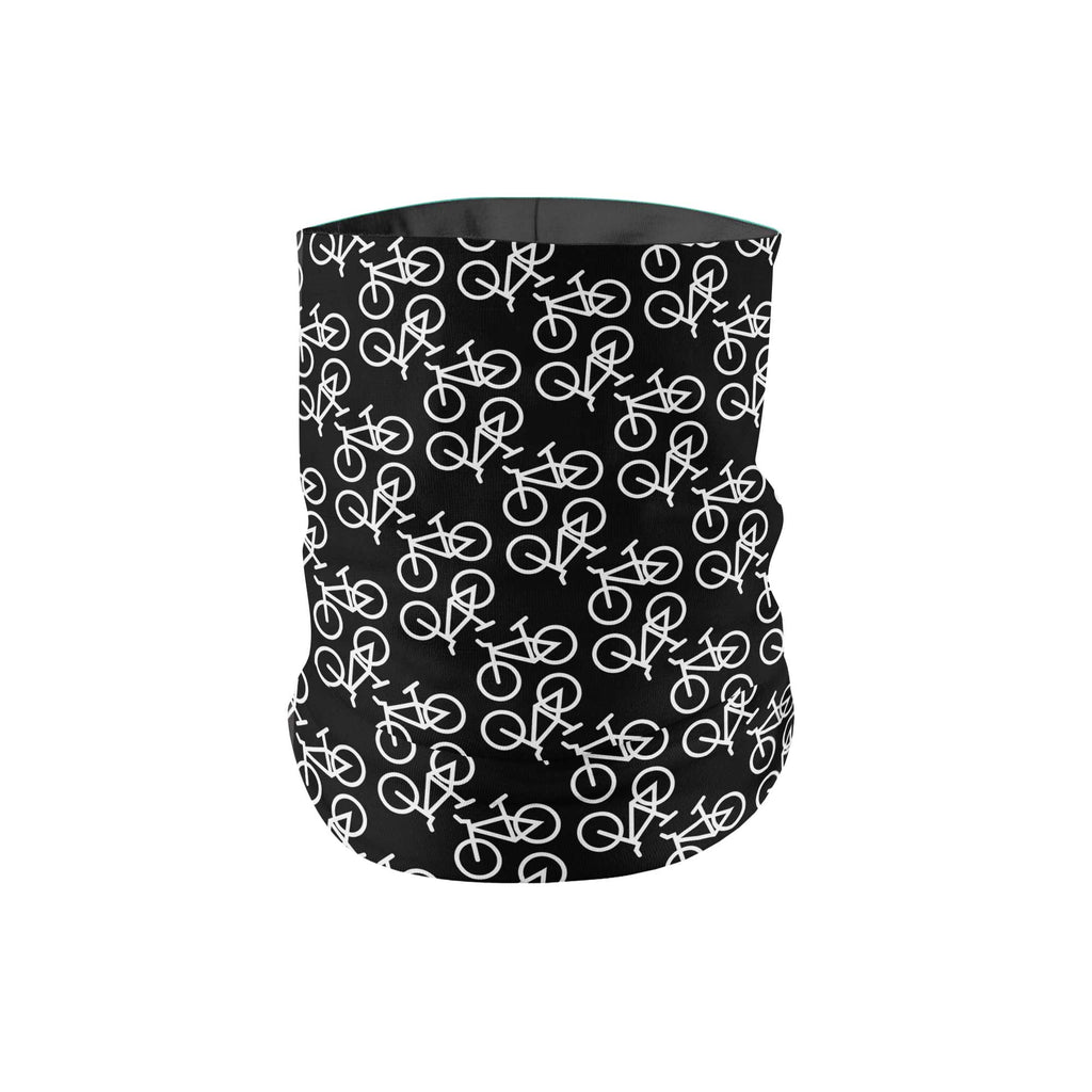 KIDS Black Bike Neck Gaiter - My E Three