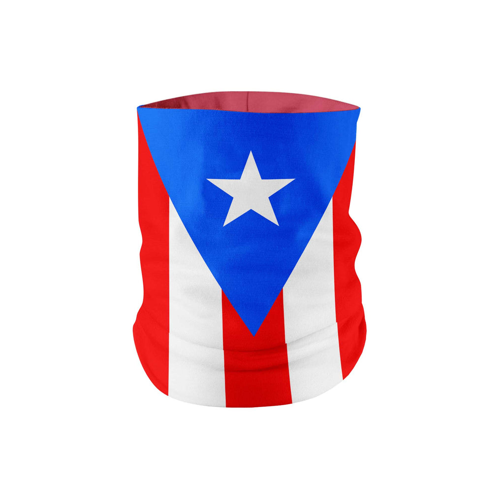 Puerto Rico Flag Neck Gaiter - My E Three