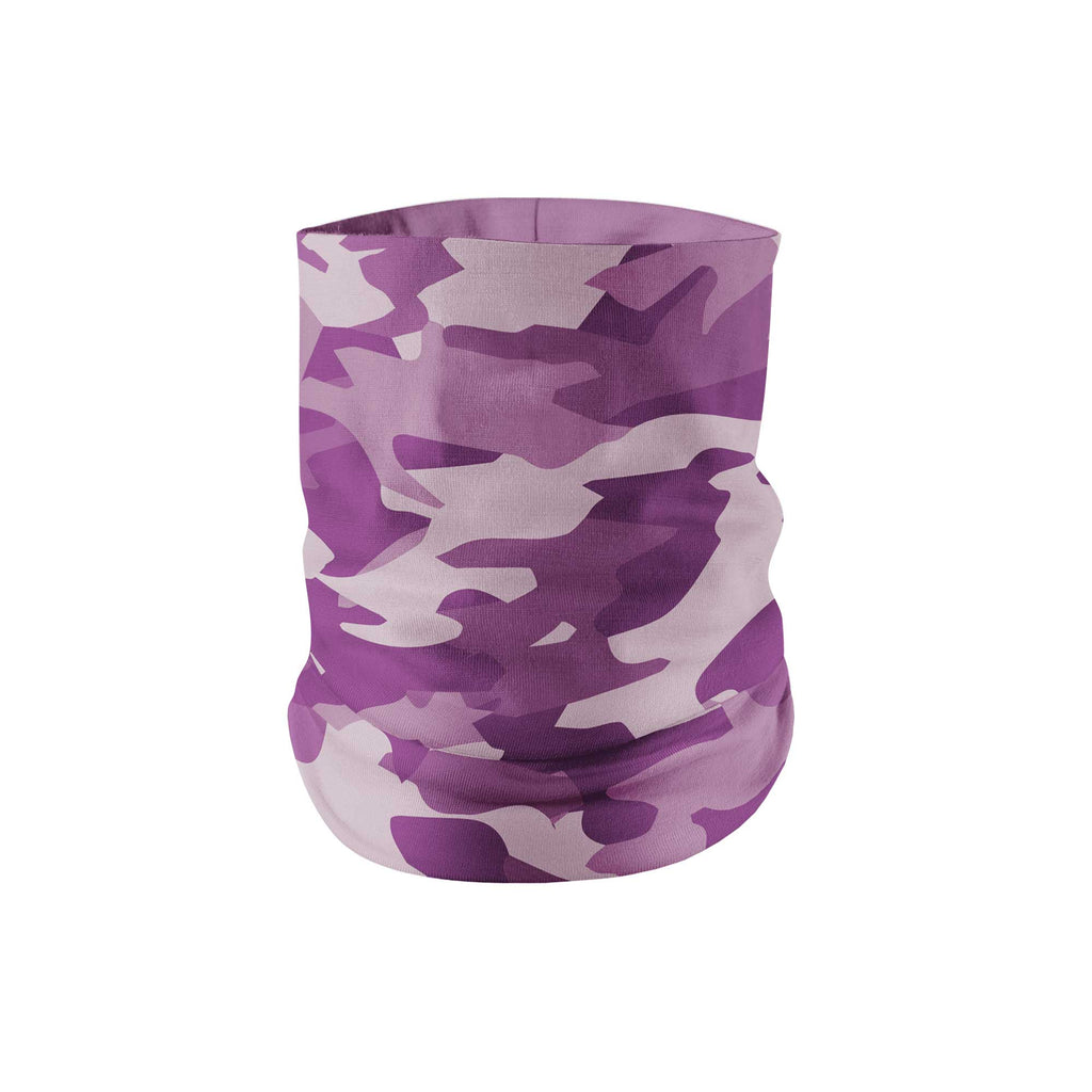 Purple Camo Neck Gaiter - My E Three