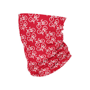 KIDS Red Bike Neck Gaiter - My E Three