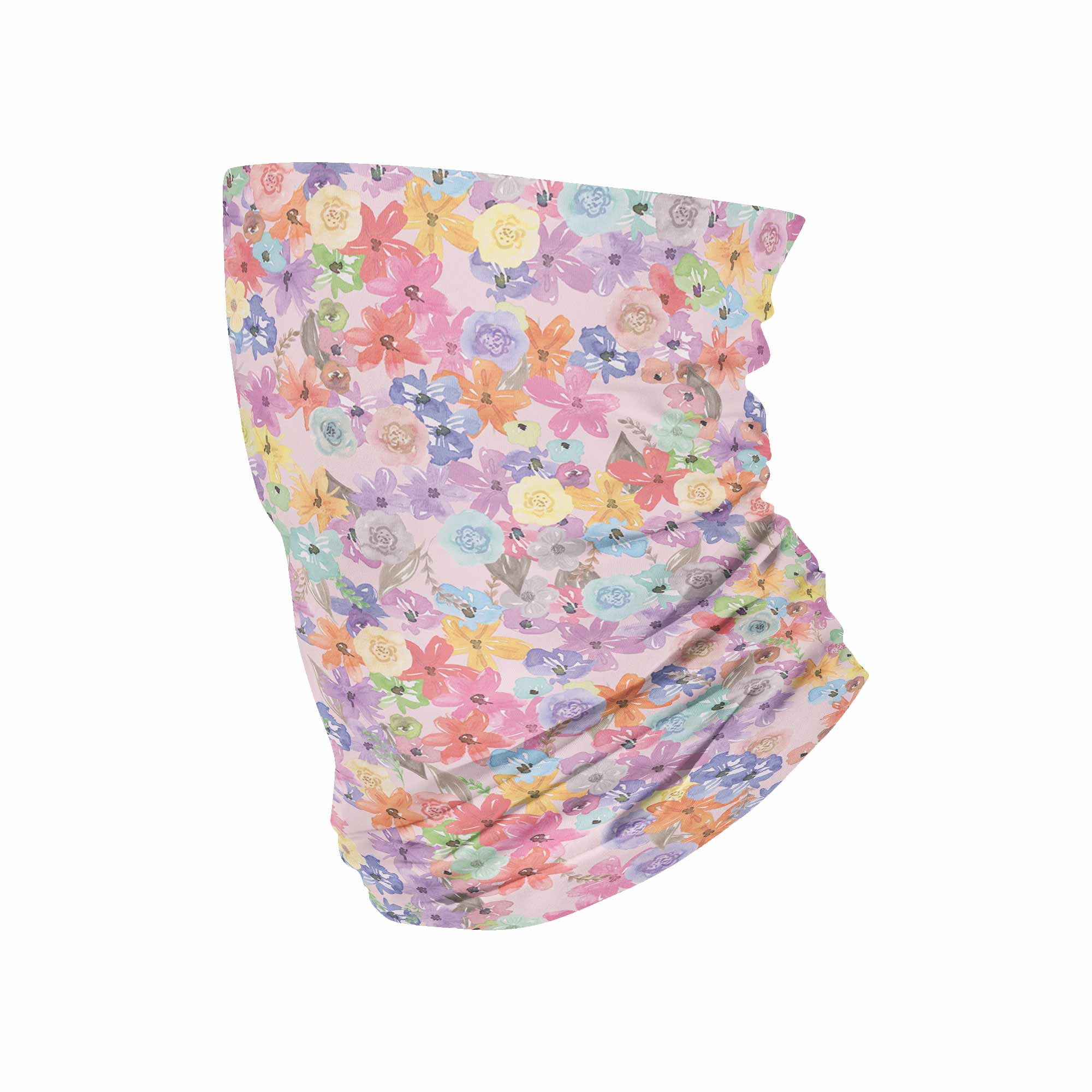 Flower Neck Gaiter fits Kids, Youth and PetiteNeck Gaiter - My E Three