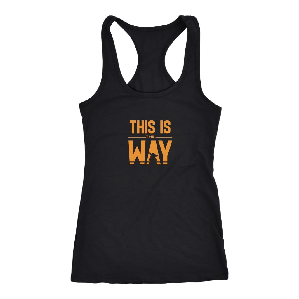 This is The Way Racerback TankT-shirt - My E Three