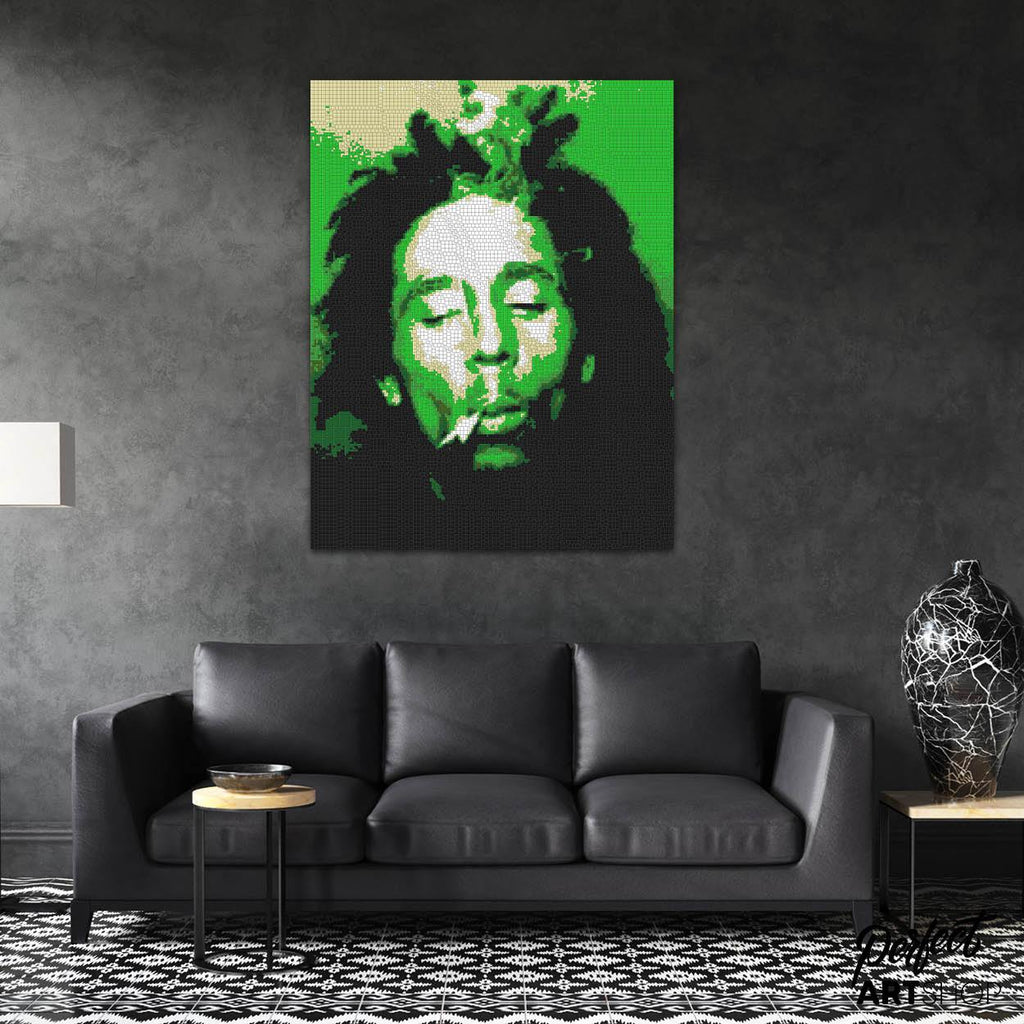 BOB MARLEY GREEN - PerfectArtShop