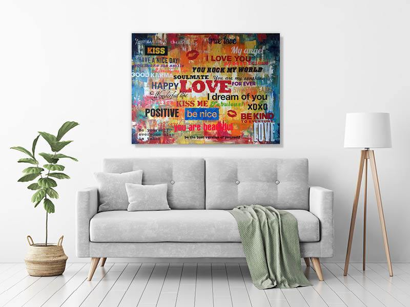 ABSTRACT LOVE - PerfectArtShop