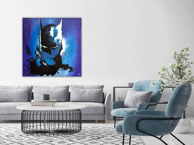 BLUE BATMAN - PerfectArtShop