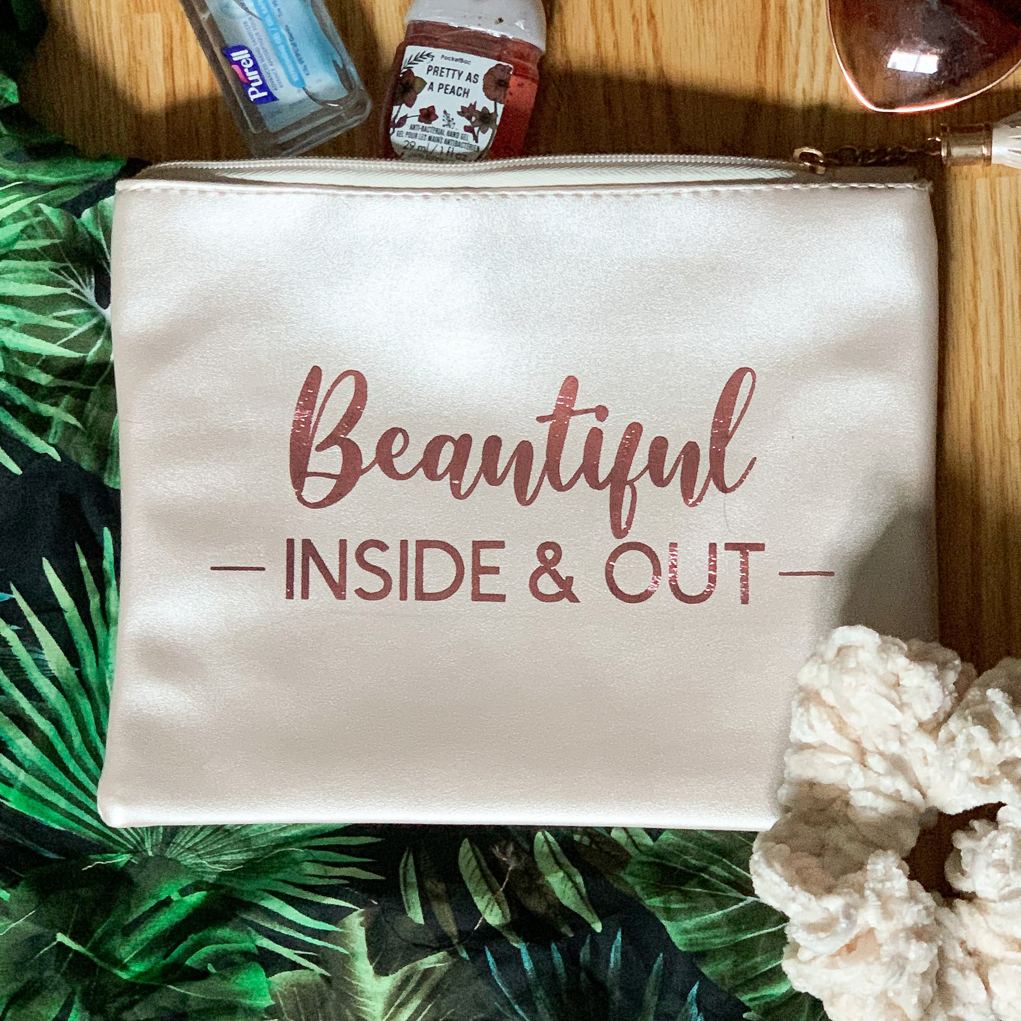 LOVE YOURSELF CLUTCH