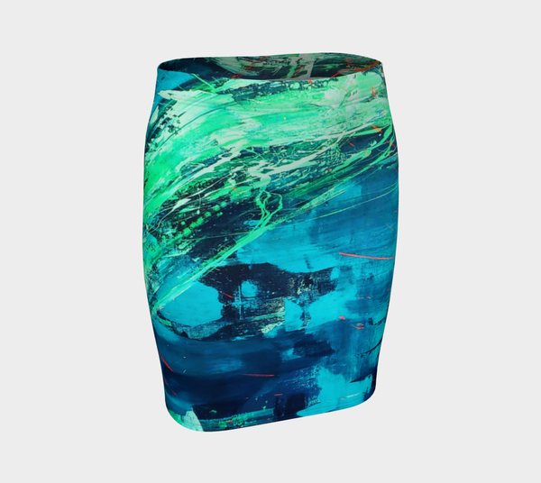 Azul Fitted Skirt