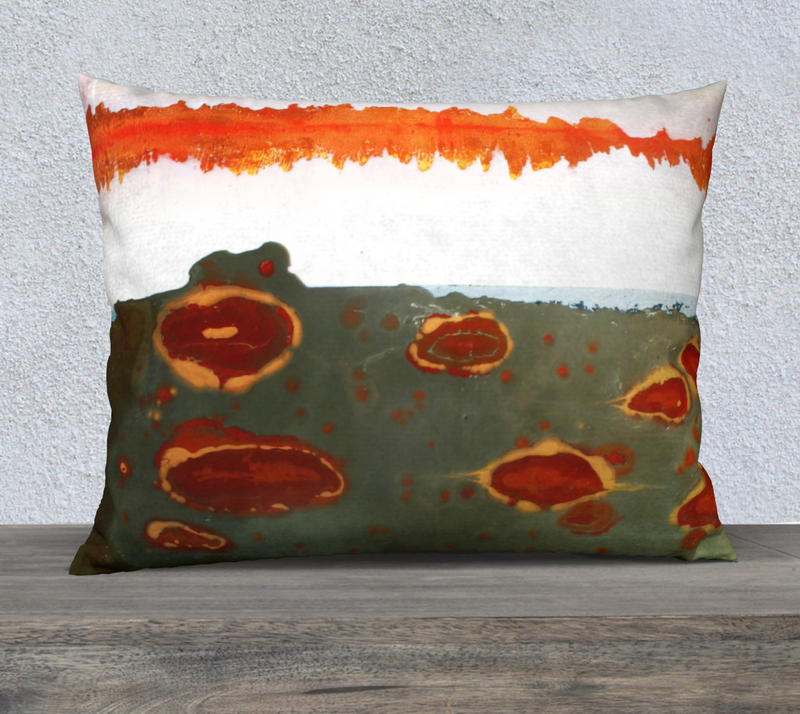 "Amoeba 26""x20"" Pillow Case"