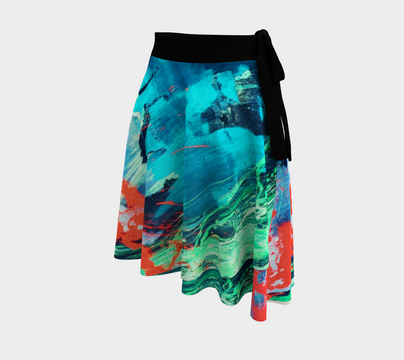 Fuego Wrap Skirt
