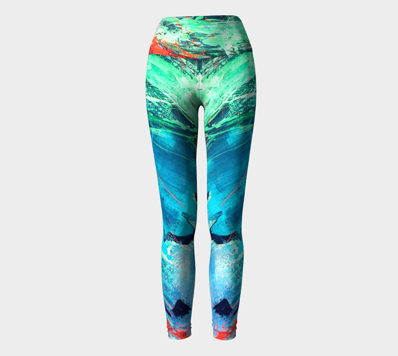 Azul Yoga Leggings