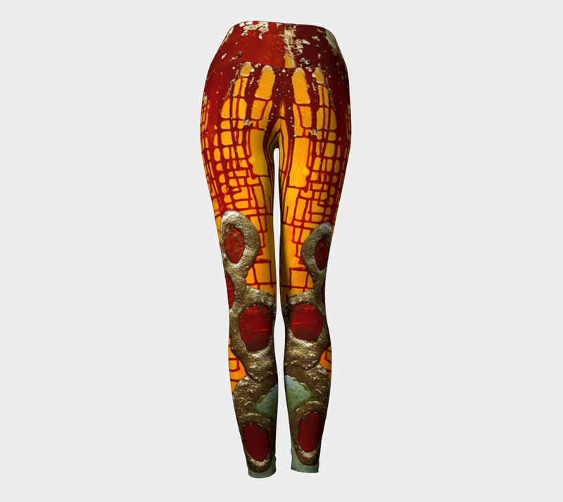 Carnival Yoga Leggings
