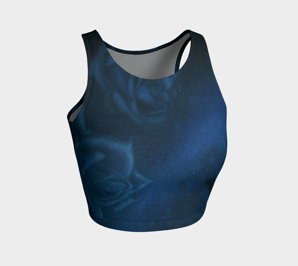 Sapphire Athletic Crop Top