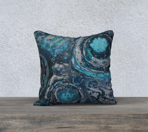 "Puddle 18""x18"" Pillow Case"
