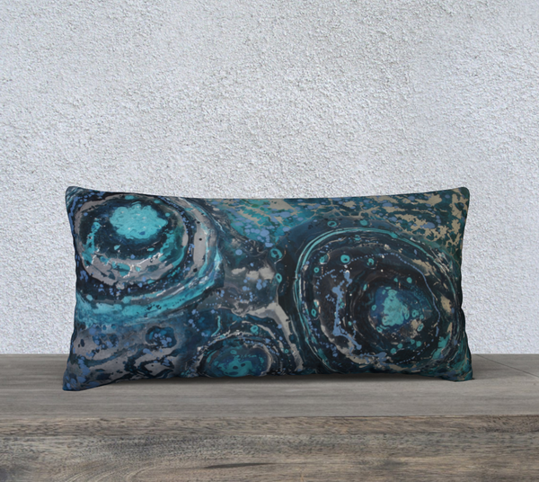 "Puddle 24""x12"" Pillow Case"