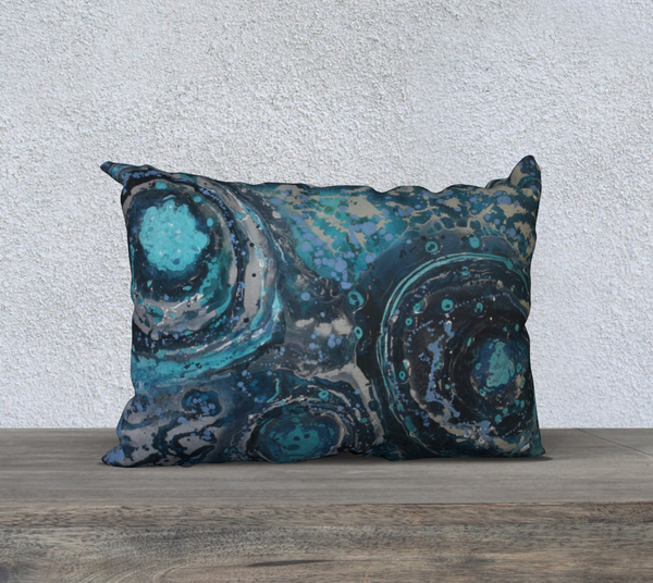 "Puddle 20""x14"" Pillow Case"