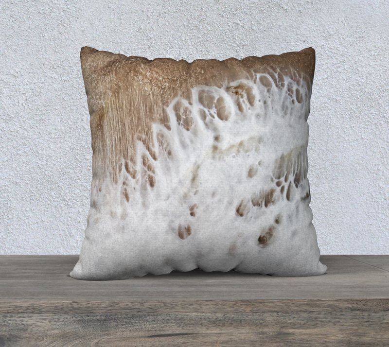 "Carrara 2 22""x22"" Pillow Case"