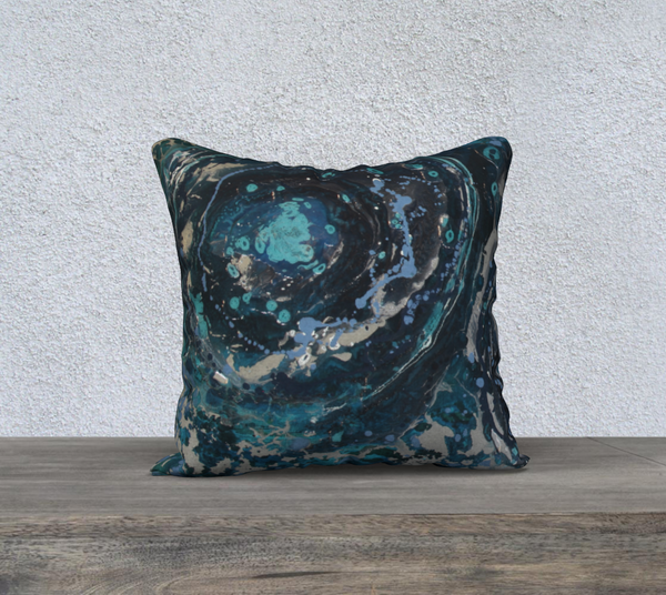 Puddle 18x18 Pillow Case