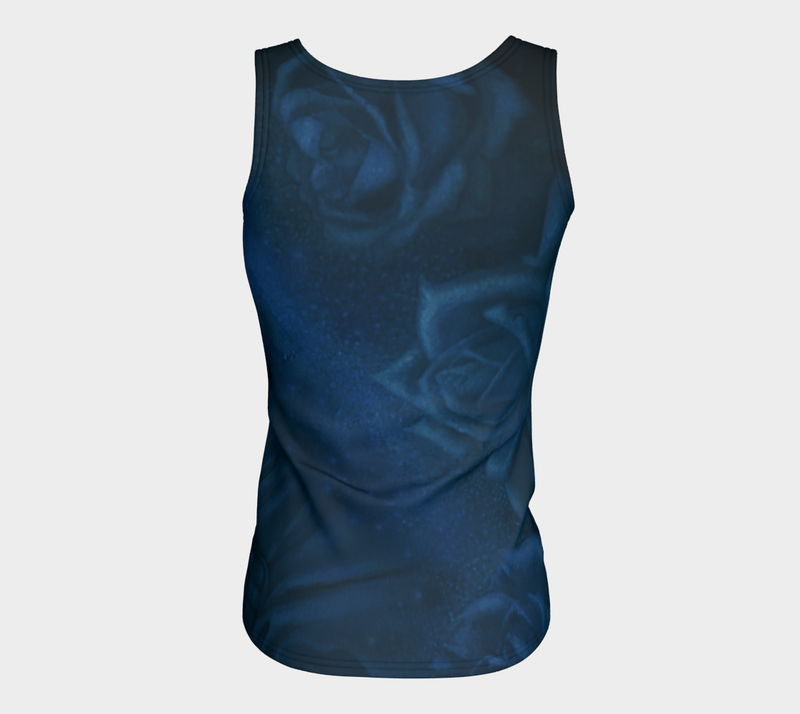 Sapphire Fitted Tank Top (Long)