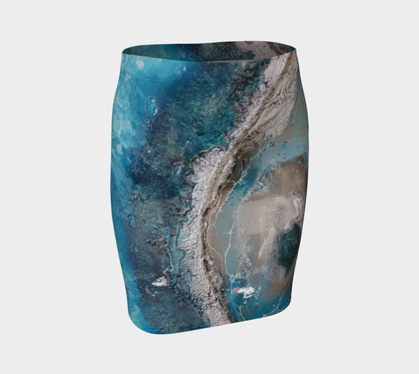 Arctic Fitted Skirt
