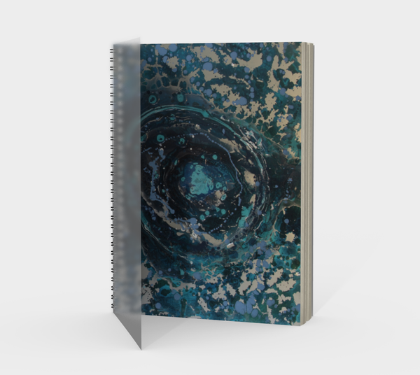 Puddle Spiral Notebook