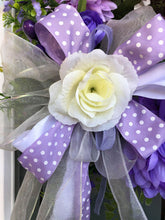 Load image into Gallery viewer, Purple Fall Summer Wreath.