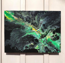 Load image into Gallery viewer, Green Is In - Set of 2 Paintings.