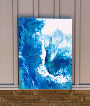 Load image into Gallery viewer, Blaue Welle (Blue Wave.)