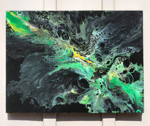 Green Is In - Set of 2 Paintings.