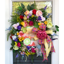 Load image into Gallery viewer, Summer Lime Wreath.
