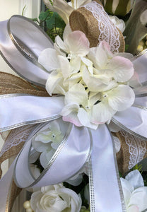 White Wedding Wreath.