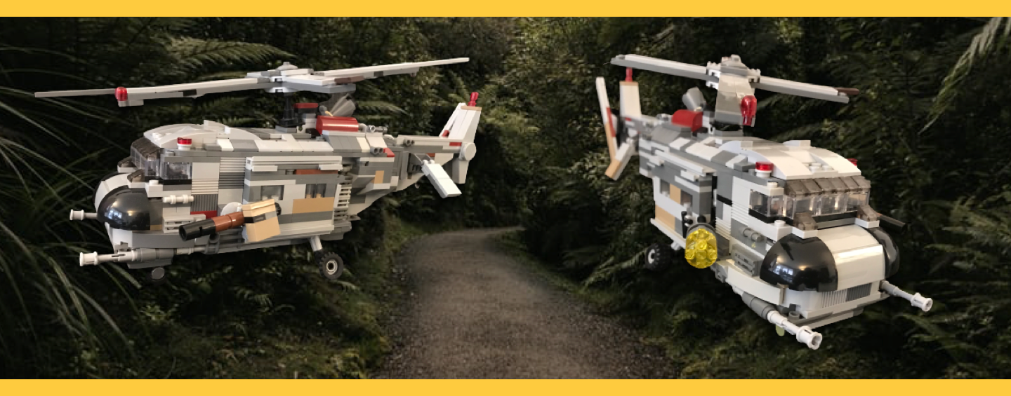 Helicoptere LEGO MOC