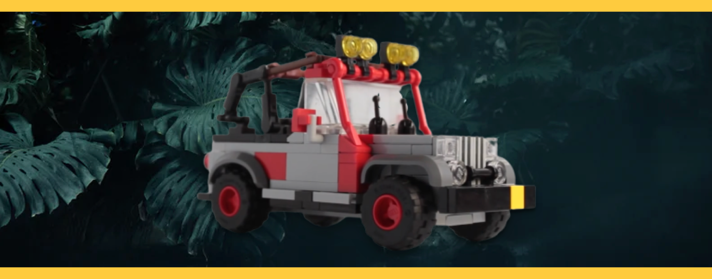 LEGO Jurassic Park Jeep Wrangler Instructions