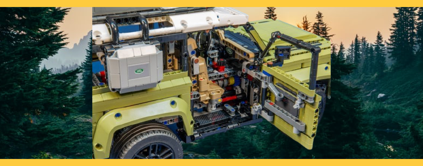 LEGO Land Rover Defender Habitacle