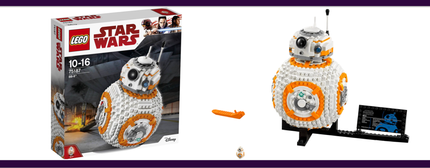 LEGO Star Wars #75187 BB-8 Droïd