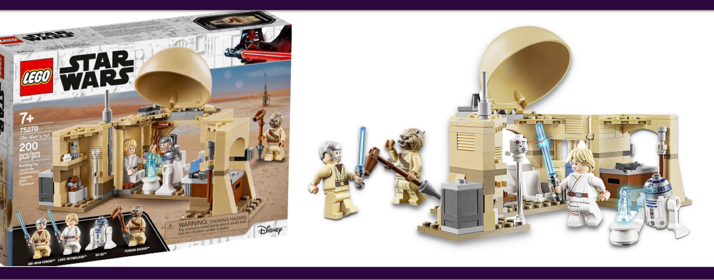 LEGO Star Wars #75270 Obi-Wan Hut