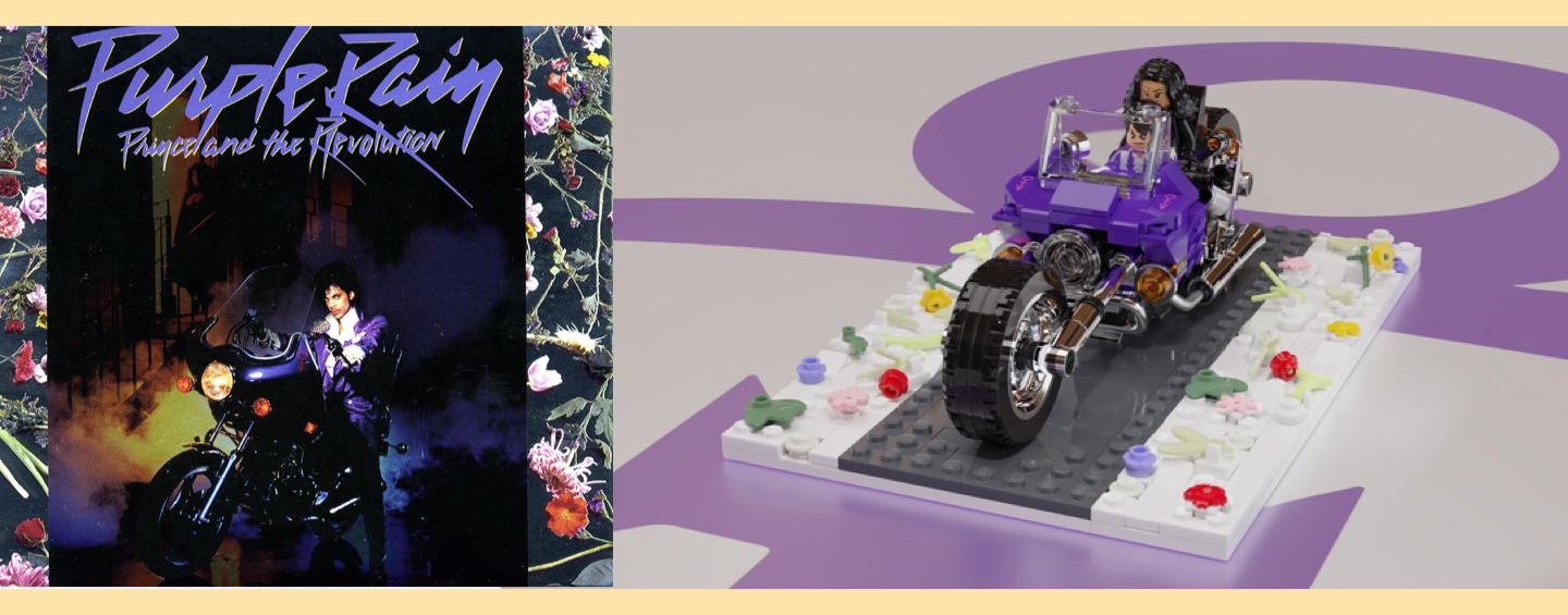 Prince Album Purple Rain - MOC LEGO Ideas Purple Rain