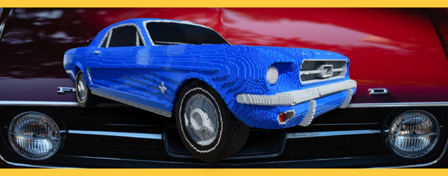 Ford Mustang Fastback 1967 LEGO